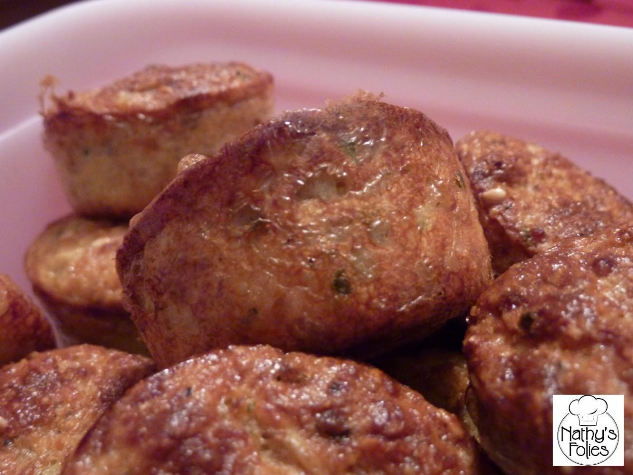 Muffins au thon et au sésame